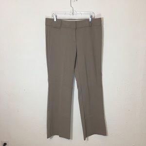 LOFT Tan Marisa Trouser Dress Pants Size 2